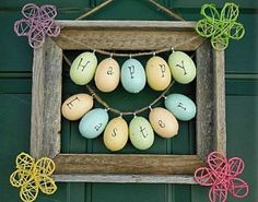 Eggs from Hobby Lobby