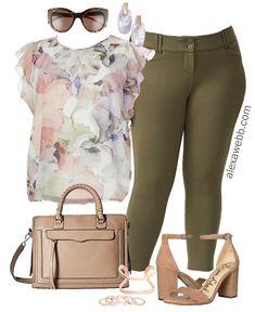 Plus Size Summer Work Outfit - Plus Size Workwear - Plus Size Fashion for Women - alexawebb.com #alexawebb