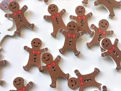 ~Wooden, gingerbread man - shaped buttons - size: x - material: wood ~ The price concerns one piece (a button). ~ The button possesses two holes Stay and visit our store! More craft supplies are waiting for You! Christmas Baby, Winter Holidays, Gingerbread Cookies, Man, Holiday Recipes, Entertaining, Etsy, Seasons, Party