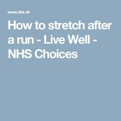 Boost your health at work - Live Well - NHS Choices Post Run Stretches, Stretching Exercises, Dukan Diet, Paleo Diet, Diet Reviews, Half Marathon Training, Atkins Diet, Health And Wellbeing, Weight Loss Plans