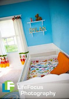 bright & colorful nursery