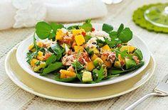 Crab Mango and Avocado Salad