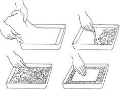 liisterin kanssa marmoroinnista kierrätyskeskuksen sivulla http://www.kierratyskeskus.fi/kadentaitopalvelu_napra/oiva-askarteluopas/perustekniikoita/marmorointi #marmorointi