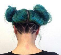 Get edgy! Dianne Nola | Curl Specialist www.NolaStudio.com San Francisco, CA