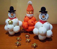 Meli's Bouquet: Χιονάνθρωποι κι Αγιοβασιλάκια !