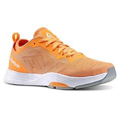 Reebok Womens LES MILLS CARDIO ULTRA 20 Dance Shoes Electric Peach  Stone  White  Grey Size 8 *** More info could be found at the image url.(This is an Amazon affiliate link and I receive a commission for the sales) #WomensTeamSportsShoes