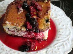 Triple Berry Cheesecake Cobbler Recipe | Just A Pinch Recipes