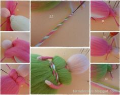 Fairy felted (waldorf doll) tutorial by TERRA DE CORES by stacy