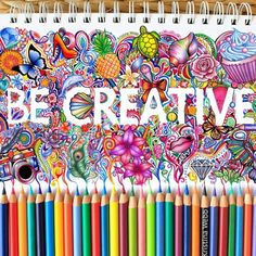 Be Creative- Kristina Webb
