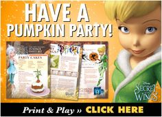 Tink & Friends Help You Host A Pumpkin Party This Weekend!