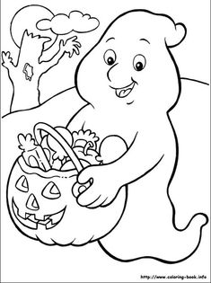 Free Printable Halloween Coloring Pages For Teenagers