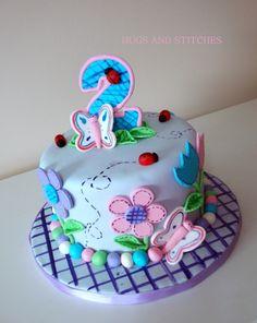 Hugs and Stitches Cake