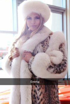 e59700287ed259 Leopard Animal, Lynx, Fur Fashion, Fur Collars, Fur Hats, Coats 2016