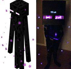 DIY Enderman Costume (Minecraft)