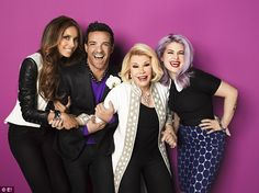 The Fashion Police Cast Remembers Joan's Humor Fashion authority Giuliana