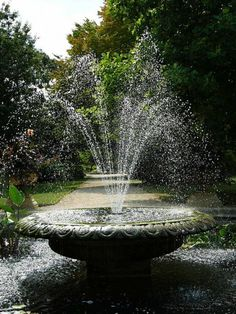 water fountains in the garden | Charming Outdoor Garden Fountains