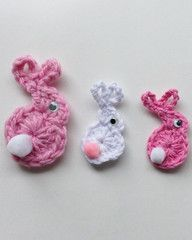 Maggie's Easter Goodies – 5 Free Bunny Crochet Patterns : Maggie's Crochet Blog