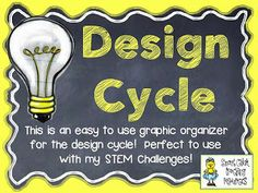 Growing a STEM Classroom: Design Cycle Graphic Organizer