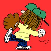 Royanne Hobbs  first appeared on April 1, 1993. The first appearance of Royanne followed a storyline in which Charlie Brown scored his first run, leading his baseball team to victory for the first time. Royanne claims to be Roy Hobbs' great-granddaughter.