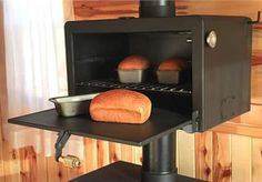The Baker's Salute Oven  WOW, NEVER HAVE SEEN THIS AS AN ATTACHMENT 4 WOOD STOVE, FABULOSA!