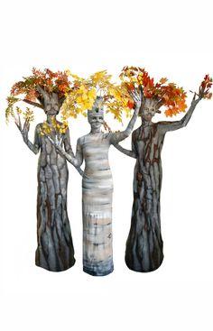 Fall Trio Living Trees by TEN31