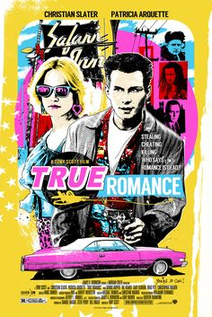 """True Romance by James Rheem Davis 24"""" X 36"""" 7 colour screen print featuring metallic inks, edition of 200. Available HERE."""
