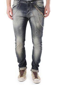 Jeans Uomo Absolut Joy (VI-P2522) colore Blu Scuro