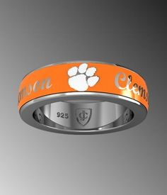 Clemson Ring. I'm going to need one of these.