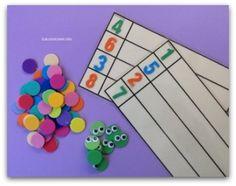 Objetivo(s): Entender la relación entre número y cantidad; relacionando conteo con cardinalidad. Contar diciendo los números en orden Contar hasta 10 de 1 en 1. Atividad(es): Formar gusanos añadiendo tantos … Leer más »