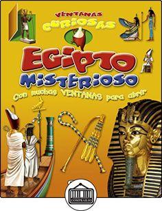 Egipto misterioso (Ventanas curiosas) de Equipo Susaeta ✿ Libros infantiles y juveniles - (De 3 a 6 años) ✿