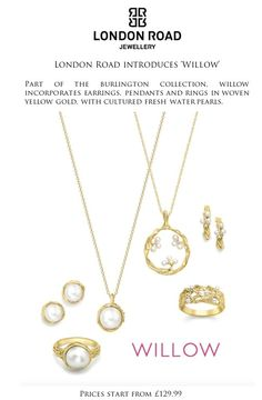 frumpy to funky: London Road Jewellery launch 'Willow' Collection