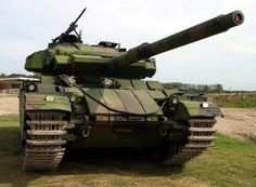 Centurion British main battle tank of the post-Second World War period.