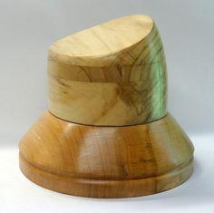WK1624 WG 1624 WR 0394 Wooden hat block millinery hut