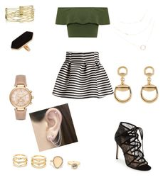 """""""Awards Outfit"""" by annamariaofficial on Polyvore featuring WearAll, Molo, Pour La Victoire, Jaeger, LULUS, Gucci, Michael Kors and Otis Jaxon"""