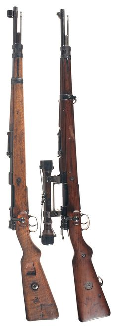 Mausers - K98 and K98 Sniper Version.