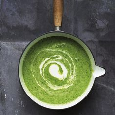 Amelia Freer's Super green soup with cashew cream - Red Online