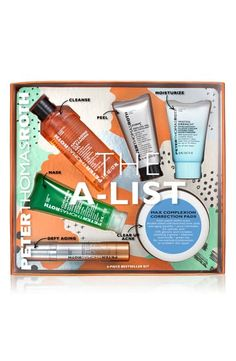 What it is: A six-piece set of best-selling Peter Thomas Roth formulas to help cleanse, exfoliate, soothe, treat and moisturize your skin. Brush Cleanser, Lip Conditioner, Peter Thomas Roth, Gel Mask, Clinique Makeup, Cleansing Gel, Oily Skin Care, Mineral Oil