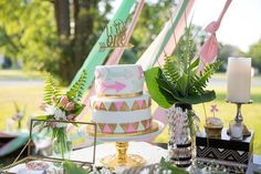 Wild One Boho Cake Topper for first birthday by RusticDaisyDesigns