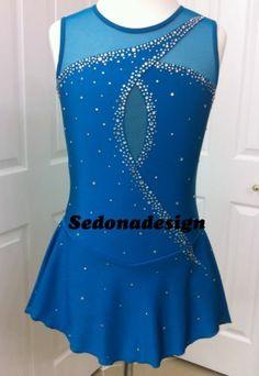 Custome Made Ice Skating Dress | eBay