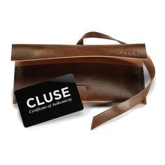 Quickjewels ♥ CLUSE - Heb je de geweldige tasjes van CLUSE al gezien?   Minuit Full Black horloge CL30008 kopen? | Quickjewels.nl