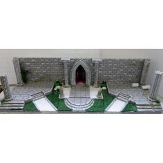 Cenário / Diorama Para Cloth Myth
