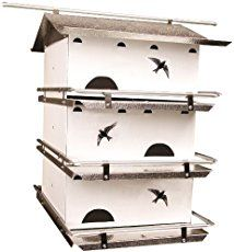 Heath Outdoor Products MP-15-4 15-Foot Telescoping Purple Martin House Pole Product DescriptionPurple martins, with their monogamous lifestyle and interesting behaviors, are extremely entertaining birds but can often be difficult to attract. Give yourself the best chance of housing these wonderful birds with the help of Heath Outdoor Products 15-foot Martin house pole. This extremely strong, three-section galvanized steel pole telescopes to 15 feet when fully extended and locks with a…