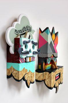 Graffiti 3D de Alex Yanes | No me toques las Helvéticas | Blog sobre diseño gráfico y publicidad