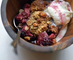 Summer fruit calls for summer cobblers and crumbles, and I'm no procrastinator when it comes to such things