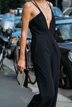 Minimal + Chic + Sexy Jumpsuit | @codeplusform