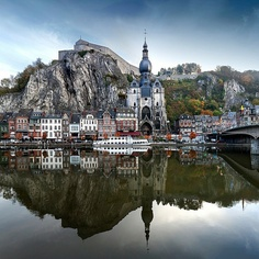 Dinant, Namur (Belgium)                                                         One of our stops on our tour in Europe