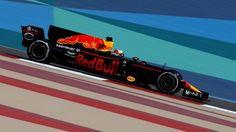 Daniel Ricciardo (AUS) Red Bull Racing RB13 at Formula One World Championship, Rd3, Bahrain Grand Prix Practice, Bahrain International Circuit, Sakhir, Bahrain, Friday 14 April 2017. © Sutton Motorsport Images