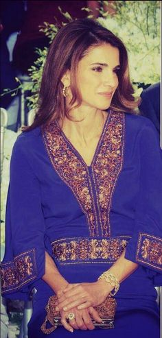 ♔♛Queen Rania of Jordan♔♛......Attending wedding of Princess Ayah.