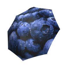 Blueberries Foldable Umbrella