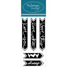 Ali Edwards / Technique Tuesday - Clear Stamp Set - Ali...